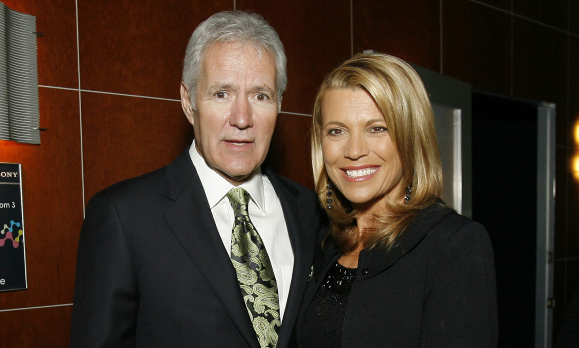 Vanna White Alex Trebek throwback photo