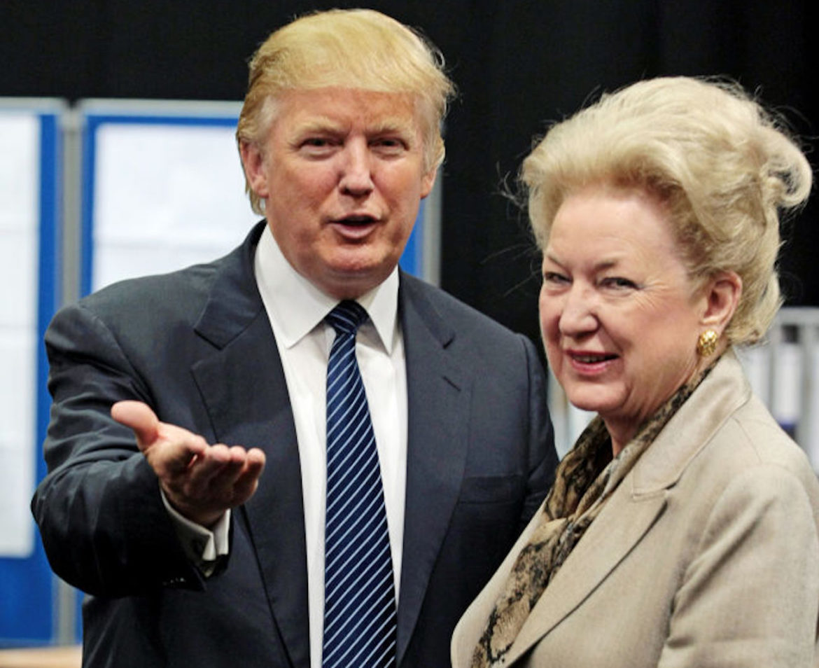 Donald Trump Sister Maryanne Talks About the Family In Audio Tapes