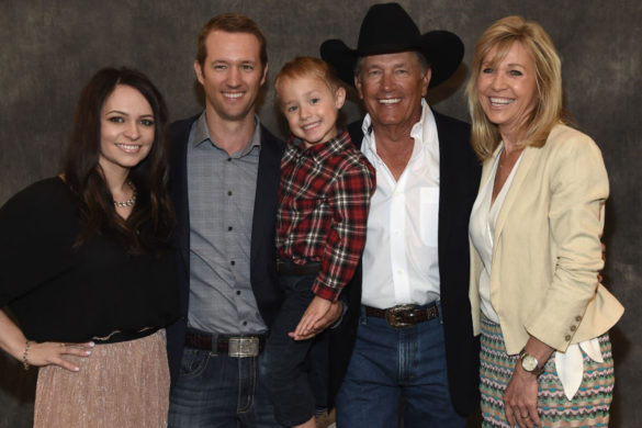 George Strait's Grandson Joins Him Onstage for Touching Performance