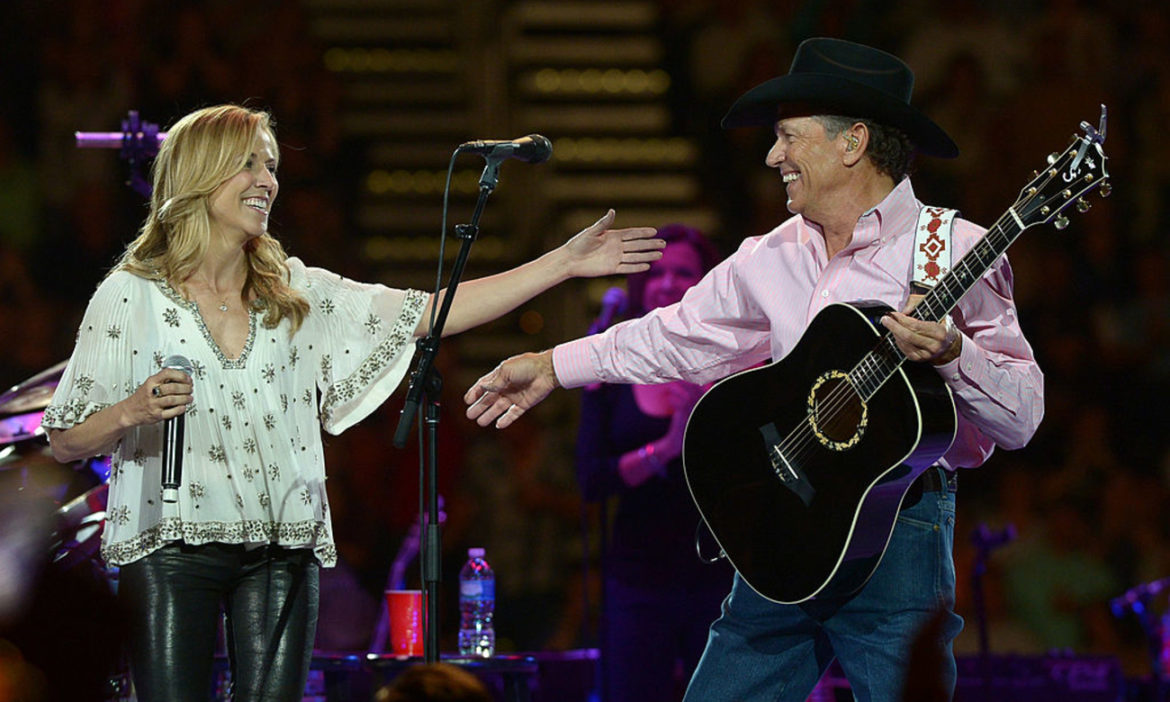 country-throwback-george-strait-sheryl-crow-perform-here-good-time-2014