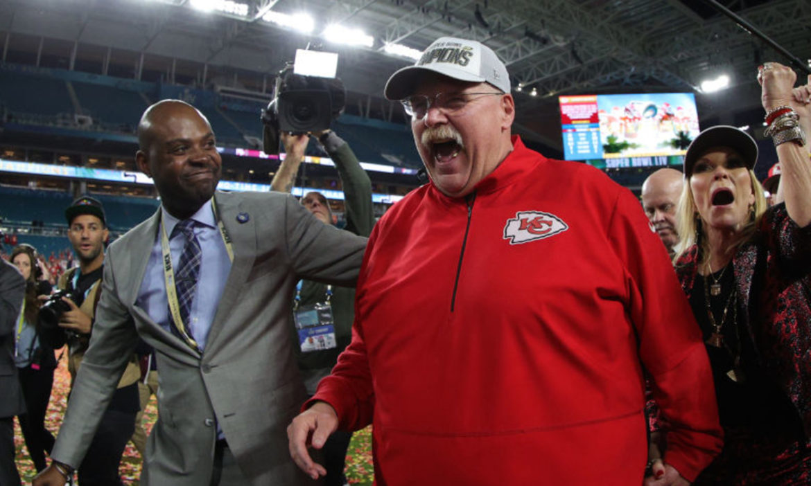 WATCH Andy Reid Gets Kansas City Chiefs Fans Unbelievably Hyped with Post-Game Statement