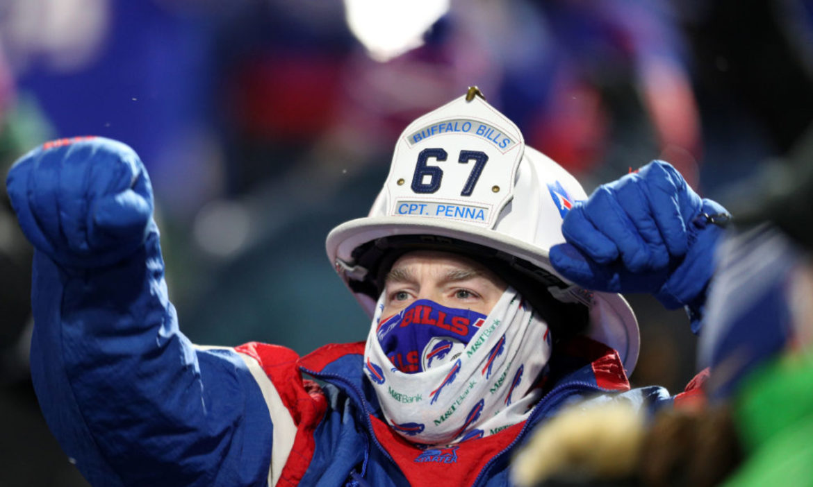 watch-buffalo-bills-fans-police-cars-celebrate-playoff-win-in-the-streets