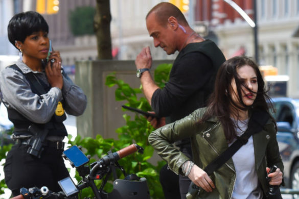 law-order-organized-crime-ainsley-seiger-shares-behind-the-scenes-pic-her-doing-cool-stuff