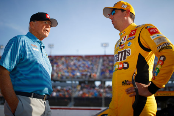 nascar-kyle-busch-handed-massive-fine-apparently-running-over-traffic-cones